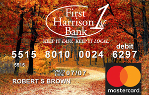Autumn Debit Card