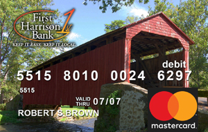 Covered Bridge Debit Card