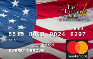 Flag Debit Card