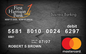 Business 1 Debit Card