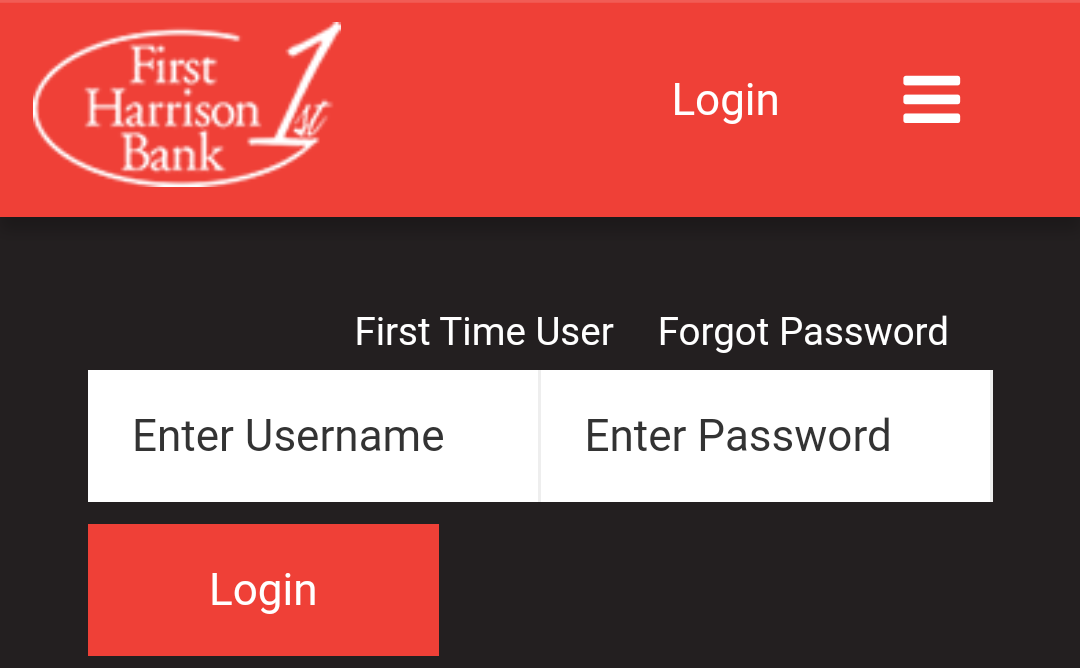 Login - Mobile Fields