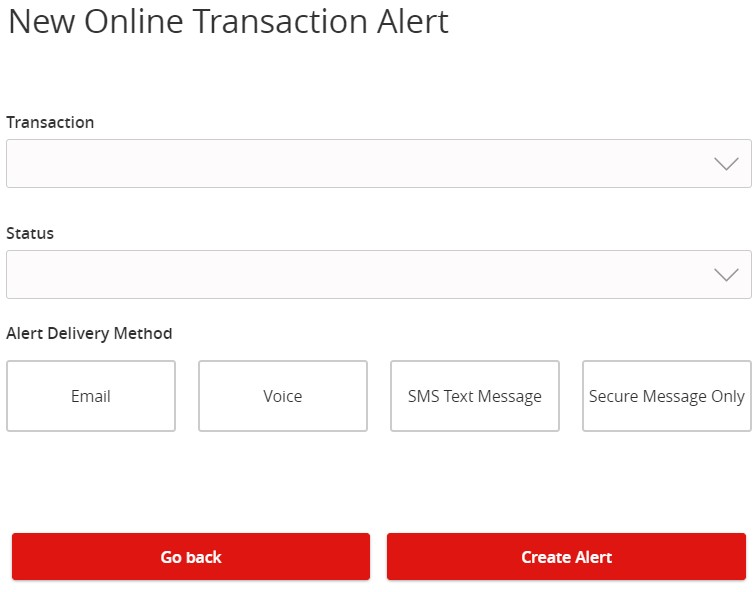 How-To Services - Alerts Online Transaction Alert