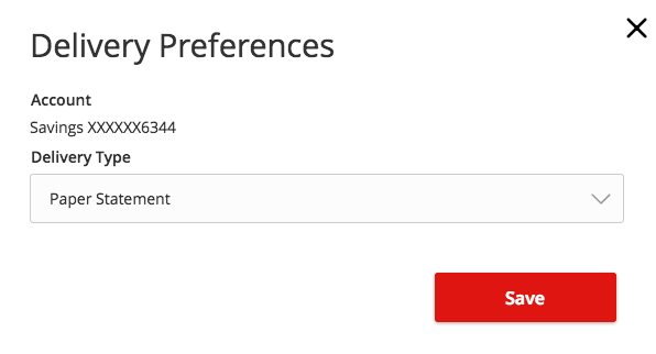 How-To Services - Statement Delivery Preferences