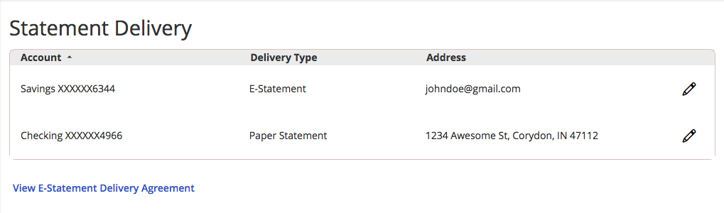 How-To Services - Statement Delivery New Statement Preference